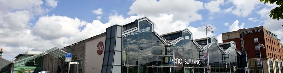 The CHQ Building, IFSC, Docklands, Dublin 1